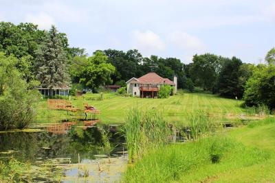 Mukwonago Single Family Home For Sale: S67w27995 River Rd