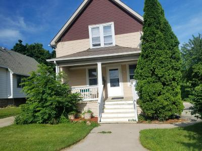 West Allis Two Family Home Active Contingent With Offer: 1618 S 65