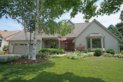 Hartland Single Family Home Active Contingent With Offer: 740 Rae Dr