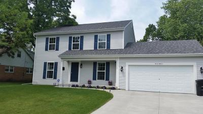 Menomonee Falls Single Family Home Active Contingent With Offer: W173 N8911 Apple Blossom Lane