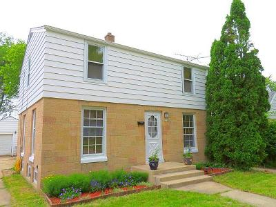 West Allis Single Family Home Active Contingent With Offer: 2587 S 77th St
