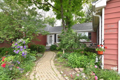 Menomonee Falls Single Family Home Active Contingent With Offer: N84w17652 Menomonee Ave