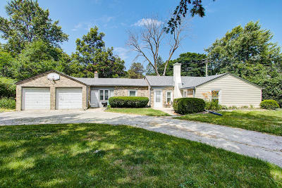 Single Family Home Active Contingent With Offer: 4569 N 105th St