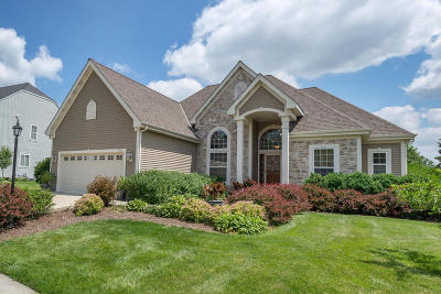 Oconomowoc Single Family Home Active Contingent With Offer: 1347 Mamerow Ln W