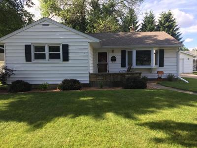 Fort Atkinson WI Single Family Home Active Contingent With Offer: $169,900