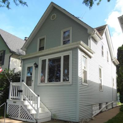 West Allis Single Family Home Active Contingent With Offer: 6121 W Lapham St