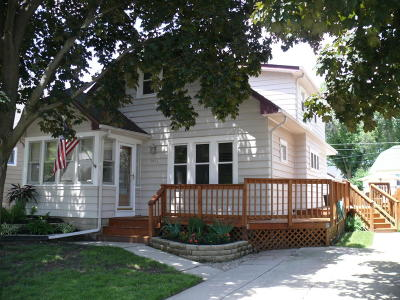 West Allis Single Family Home Active Contingent With Offer: 9436 W Orchard St