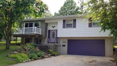 Mayville Single Family Home Active Contingent With Offer: 105 Riverview Heights