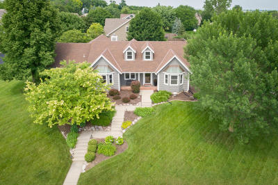 Menomonee Falls Single Family Home Active Contingent With Offer: N50w17000 Maple Crest Ln