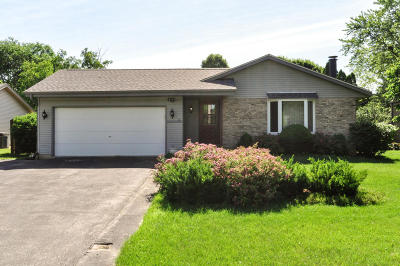 Racine Single Family Home Active Contingent With Offer: 4855 Erie St