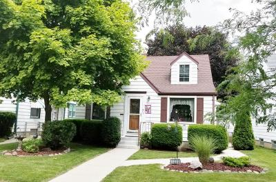West Allis Single Family Home Active Contingent With Offer: 1320 S 115th St
