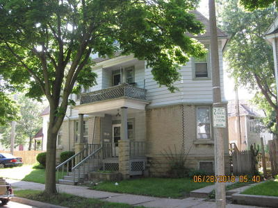Milwaukee WI Two Family Home For Sale: $198,900