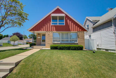 West Allis Two Family Home Active Contingent With Offer: 2377 S 63rd St