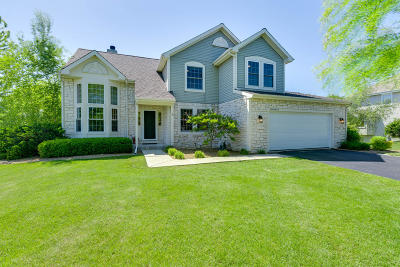 Menomonee Falls Single Family Home Active Contingent With Offer: W139n6417 Manor Hills Blvd