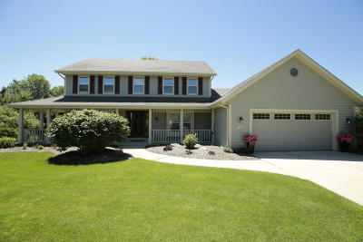 Menomonee Falls Single Family Home Active Contingent With Offer: N64w14620 Poplar Ct