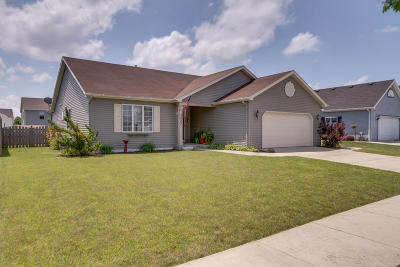 Kenosha Single Family Home Active Contingent With Offer: 9223 62nd Pl