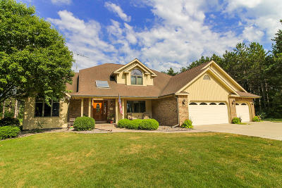 Campbellsport Single Family Home For Sale: N753 Pine Ln