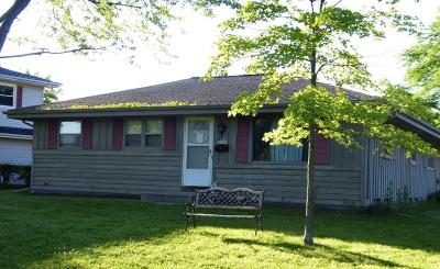Menomonee Falls Single Family Home Active Contingent With Offer: N86w14758 Menomonee River Pkwy
