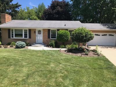 Pleasant Prairie WI Single Family Home Active Contingent With Offer: $214,900