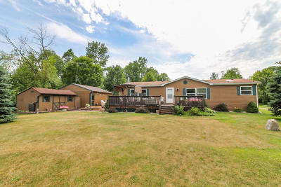 Campbellsport Single Family Home For Sale: N3971 State Road 67