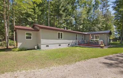 Peshtigo Single Family Home Active Contingent With Offer: N3243 River Bend Rd
