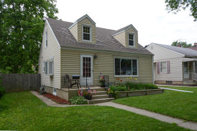 Milwaukee Single Family Home For Sale: 3127 N 80th St
