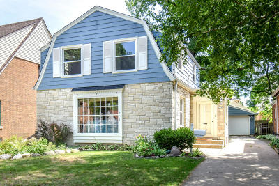 Single Family Home Active Contingent With Offer: 2540 N 63rd St