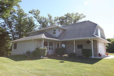 Single Family Home For Sale: N7518 Shaffer Rd