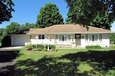 Mayville Single Family Home For Sale: N10163 County Road V