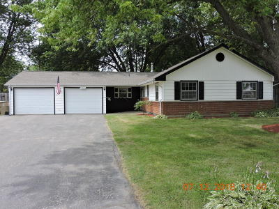 Pleasant Prairie Single Family Home Active Contingent With Offer: 12450 39th Ave