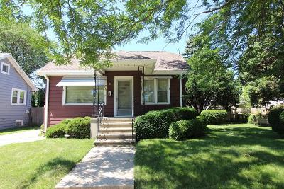 Kenosha Single Family Home Active Contingent With Offer: 5514 34th Ave