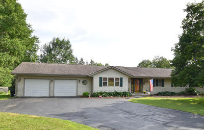 Menomonee Falls Single Family Home Active Contingent With Offer: N93w19831 Addison Rd