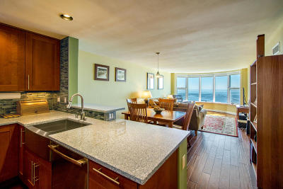 Milwaukee Condo/Townhouse Active Contingent With Offer: 2525 S Shore Dr #17E