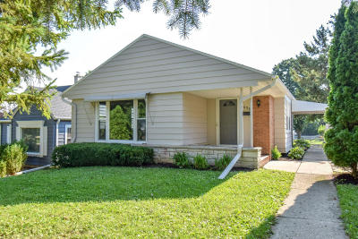 Greenfield Single Family Home For Sale: 3458 S Strothmann Dr