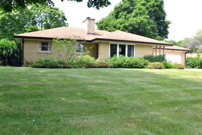 Menomonee Falls Single Family Home For Sale: N80w15385 Valley View Dr
