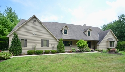 Pewaukee Single Family Home For Sale: W280n1280 Cloverleaf Ln
