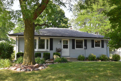 Menomonee Falls Single Family Home Active Contingent With Offer: N85w17098 Ann Ave