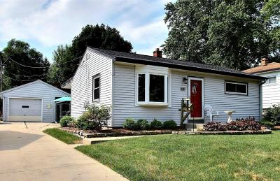 Milwaukee Single Family Home Active Contingent With Offer: 4719 W Wilbur Ave.