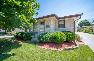 West Allis Single Family Home Active Contingent With Offer: 1138 S 118th St