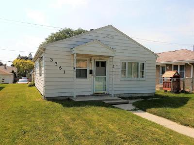 Milwaukee Single Family Home For Sale: 3361 S 25th
