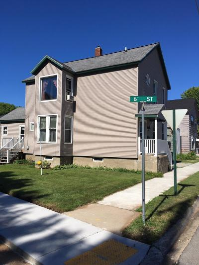 Menominee Single Family Home For Sale: 518 13th Ave
