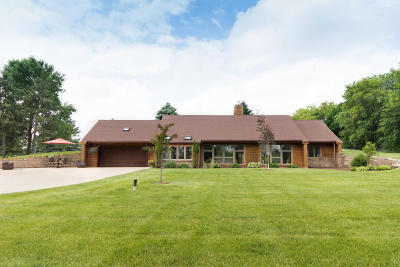 Hartford Single Family Home Active Contingent With Offer: 7400 Druid Lake Rd