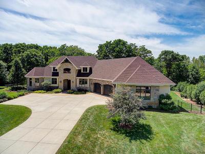 Hartland Single Family Home For Sale: N92w26540 Hickory Rd