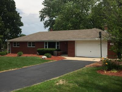 Menomonee Falls Single Family Home For Sale: N81w15304 Hilltop Dr