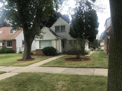 Milwaukee County Single Family Home For Sale: 3606 N 58th Blvd