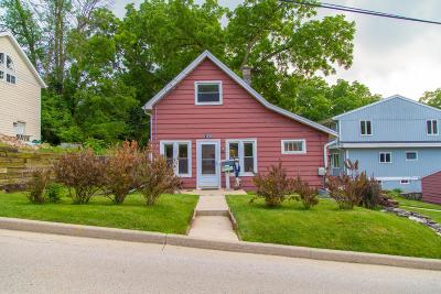 Pewaukee Single Family Home Active Contingent With Offer: 129 Maple St