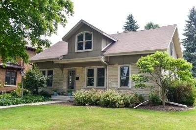 Whitefish Bay Single Family Home Active Contingent With Offer: 325 E Day Ave