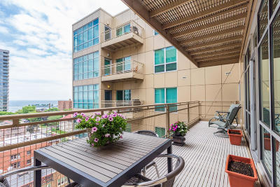 Milwaukee Condo/Townhouse Active Contingent With Offer: 1550 E Royall Pl #906