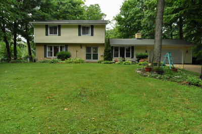 Racine Single Family Home Active Contingent With Offer: 4220 Patzke Rd