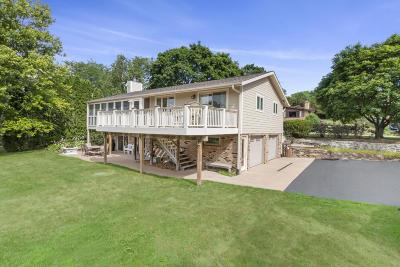 Elkhorn Single Family Home For Sale: W5123 Bay Shore Dr